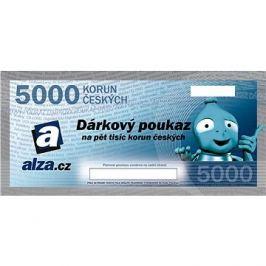 Elektronický dárkový poukaz Alza.cz na nákup zboží v hodnotě 5000 Kč