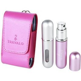 TRAVALO Classic Take2 Pink & Silver 5 ml + 5 ml