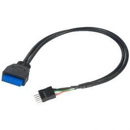 AKASA USB 3.0 (19-pin) na USB 2.0 (9-pin)