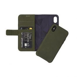Decoded Leather 2in1 Wallet Case Green iPhone X
