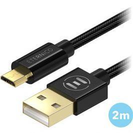 Eternico AluCore Micro USB 2m Black