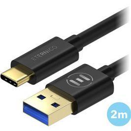 Eternico AluCore USB-C 3.1 Gen1, 2m Black