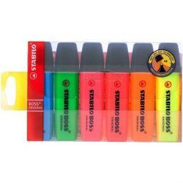 STABILO Boss 2-5mm sada 6 barev Zvýrazňovače