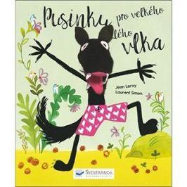 Pusinky pro velkého zlého vlka: Kniha s prstovým maňáskem zabaví každé dítě. Dáš vlkovi pusinku?