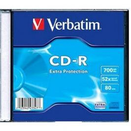 VERBATIM CD-R 80 52x EXTRA slim 200pc/BAL