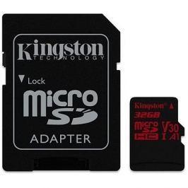 Kingston Canvas React MicroSDHC 32GB A1 UHS-I V30 + SD adaptér