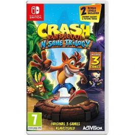 Crash Bandicoot N Sane Trilogy - Nintendo Switch
