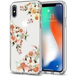 Spigen Liquid Crystal Aquarelle Primrose iPhone X