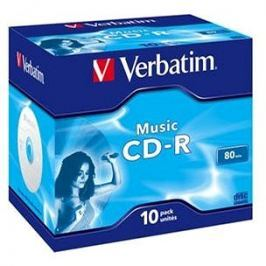 VERBATIM CD-R 80 MUSIC box 10pck/BAL
