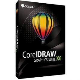 CorelDRAW Graphics Suite X6 pro jednoho uživatele EDU (elektronická licence)