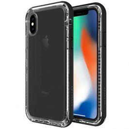 LifeProof Next pro iPhone X průhledné - černé
