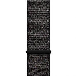 Apple 42mm Černý provlékací sportovní - Large 42mm