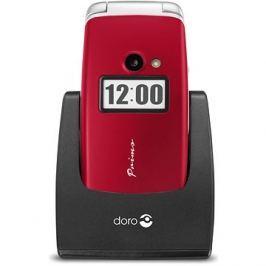 Doro Primo 413 červená Mobilní telefony