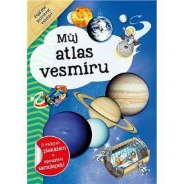 Můj atlas vesmíru: S velkým plakátem a spoustou samolepek!
