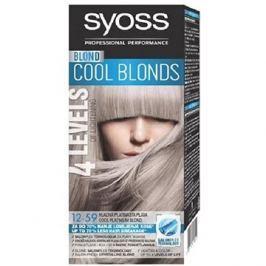 SYOSS Blond Cool Blonds 12-59 Chladná platinová blond 50 ml