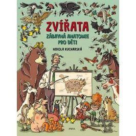 Zvířata Zábavná anatomie pro děti Romány a povídky