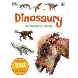 Dinosaury Samolepková knižka