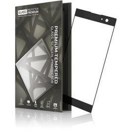 Tempered Glass Protector Rámečkové pro Sony Xperia XA2 Černé