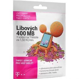 Předplacená karta Twist s Námi 400MB