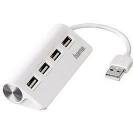 Hama USB 2.0 4 port bílý