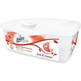 LINTEO BABY Vlhčené ubrousky SOFT AND CREAM BOX 72 ks