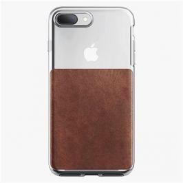 Nomad Clear Case Rustic Brown iPhone 8 Plus / 7 Plus
