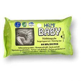HELMI BABY ekologické vlhčené ubrousky 64 ks