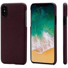 Pitaka Aramid Case Black/Red Plain iPhone X