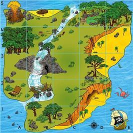 Bee-Bot podložka Ostrov pokladů