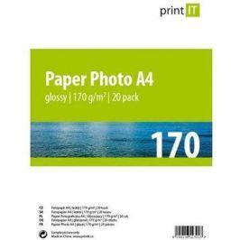 PRINT IT Paper Photo Glossy A4 20 listů Lesklý
