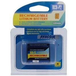 AVACOM za CR-P2 nab. lithium 6V 500mAh černá