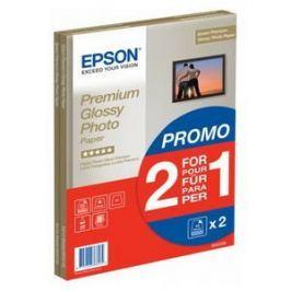 Epson Premium Glossy Photo A4 15 list + druhé balení papíru zdarma Lesklý