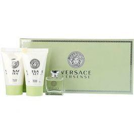 Versace Versense EDT 5 ml + sprchový gel 25 ml + tělové mléko 25 ml dárková sada Pro ženy