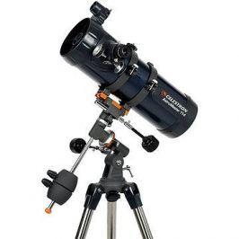 Celestron AstroMaster 114 EQ + 4mm okulár v balení zdarma Zrcadlové