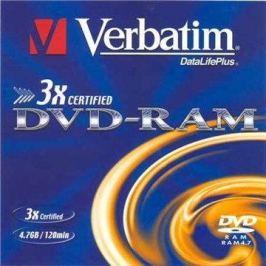 Verbatim DVD-RAM 3x, 5ks v krabičce DVD-RAM