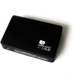 PremiumCord externí HDMI Splitter, 2x port HDMI 1.4 černý