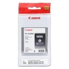Canon PFI-102MBK matná černá Canon
