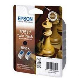 Epson T0511 Twin pack černá