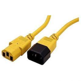 ROLINE síťový 1.8m - žlutý