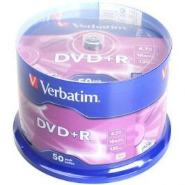 Verbatim DVD+R 16x, 50ks cakebox DVD+R