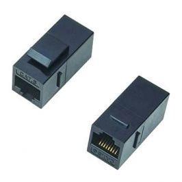Datacom Panelová spojka UTP CAT6  2xRJ45 (8p8c) přímá