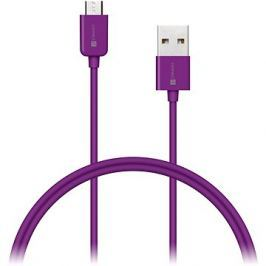CONNECT IT Colorz Micro USB 1m fialový