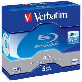 Verbatim BD-R 25GB 6x, 5ks v krabičce BD-R