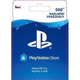 PlayStation Store - Kredit 500 Kč - CZ Dobíjecí karty