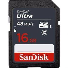 SanDisk SDHC 16GB Ultra Class 10 UHS-I