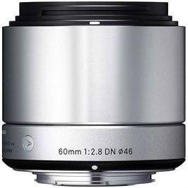 SIGMA 60mm f/2.8 DN ART stříbrný SONY