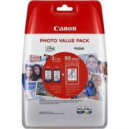 Canon PG-545XL + CL-546XL + fotopapír GP-501 Multipack