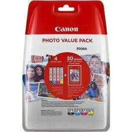 Canon CLI-571 multipack + fotopapír PP-201