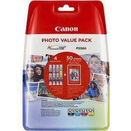 Canon CLI-521 multipack + fotopapír PP-201