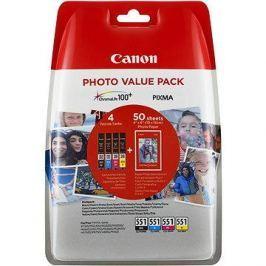 Canon CLI-551 multipack + fotopapír PP-201